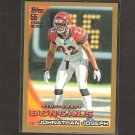 JONATHAN JOSEPH 2010 Topps GOLD Parallel - Cincinnati Bengals & South Carolina Gamecocks