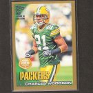 CHARLES WOODSON 2010 Topps GOLD Parallel - Green Bay Packers & Michigan Wolverines