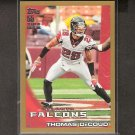THOMAS DeCOUD 2010 Topps GOLD Parallel - Kansas City Chiefs & Cal Golden Bears