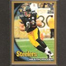 HEATH MILLER 2010 Topps GOLD Parallel - Pittsburgh Steelers & Virginia Cavaliers