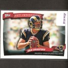 SAM BRADFORD - 2010 Topps Peak Performance Rookie - St. Louis Rams & Oklahoma Sooners
