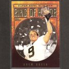 DREW BREES - 2010 Topps Ring of Honor - New Orleans Saints & Purdue Boilermakers