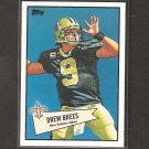 DREW BREES - 2010 Topps 52 Bowman - New Orleans Saints & Purdue Boilermakers