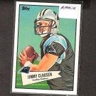 JIMMY CLAUSEN - 2010 Topps 52 Bowman Rookie - Carolina Panthers & Notre Dame