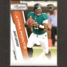 DAVID GARRARD 2010 Playoff Prestige Extra Points - Jacksonville Jaguars & East Carolina