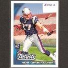 ROB GRONKOWSKI - 2010 Topps Rookie - Patriots & Arizona Wildcats