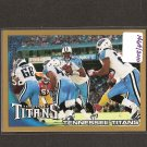 TENNESSEE TITANS team card 2010 Topps GOLD Parallel - Chris Johnson
