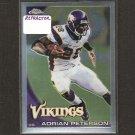 ADRIAN PETERSON - 2010 Topps Chrome REFRACTOR - Minnesota Vikings & Oklahoma Sooners