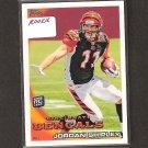 JORDAN SHIPLEY - 2010 Topps Rookie - Bengals & Texas Longhorns
