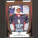 CJ SPILLER - 2010 Topps 75th Draft Rookie - Bills & Clemson Tigers
