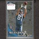 GOLDEN TATE - 2010 Topps Chrome Rookie - Seahawks & Notre Dame Fighting Irish