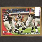 MICHAEL TURNER - 2010 Topps GOLD Parallel - Falcons & Northern Illinois Huskies