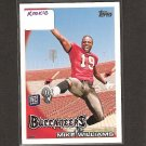 MIKE WILLIAMS - 2010 Topps Rookie - Buccaneers & Syracuse Orangemen
