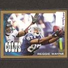 REGGIE WAYNE - 2010 Topps GOLD - Colts & Miami Hurricanes