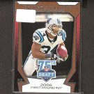 DeANGELO WILLIAMS - 2010 Topps 75th Draft Rookie - Panthers & Memphis Tigers