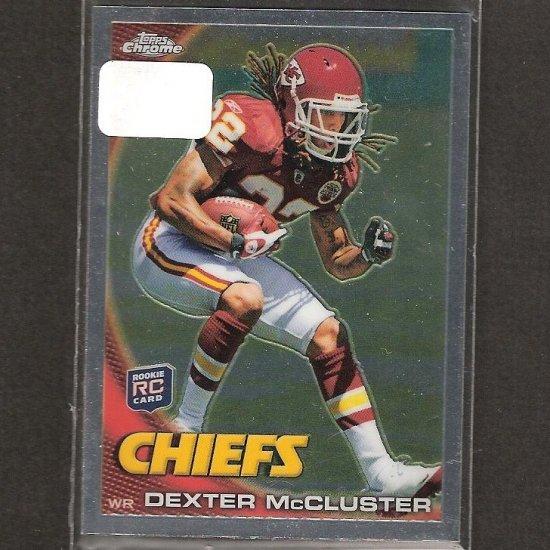 DEXTER McCLUSTER - 2010 Topps Chrome Rookie - Chiefs & Ole Miss