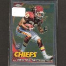 DEXTER McCLUSTER - 2010 Topps Chrome Rookie - Chiefs & Ole Miss