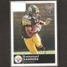 EMMANUEL SANDERS 2010 Topps Magic Rookie - Steelers & SMU Mustangs