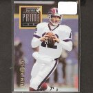JIM KELLY - 1996 Playoff Prime Gold RARE - Bills & Miami Hurricanes