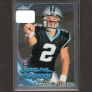 JIMMY CLAUSEN - 2010 Topps Chrome Rookie - Panthers & Notre Dame