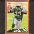 SHONN GREENE - 2009 Topps Chrome Bronze REFRACTOR Rookie Card - Jets & Iowa Hawkeyes