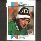 JOE NAMATH 1996 Topps REPRINT - Jets & Alabama Crimson Tide