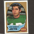 JOE NAMATH 1996 Topps REPRINT - Jets & Alabama Crimson Tide