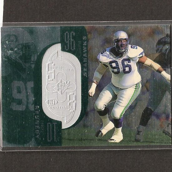 CORTEZ KENNEDY 1998 SPx Finite - Seahawks & Miami Hurricanes