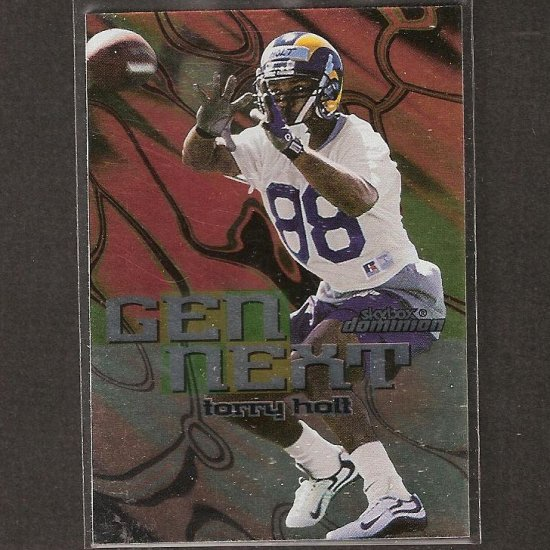 TORRY HOLT - 1999 Skybox Dominion Gen Next Rookie - Rams & NC State Wolfpack