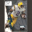 EDDIE KENNISON - 1996 Skybox Same Game More Attitude Rookie - LSU Tigers