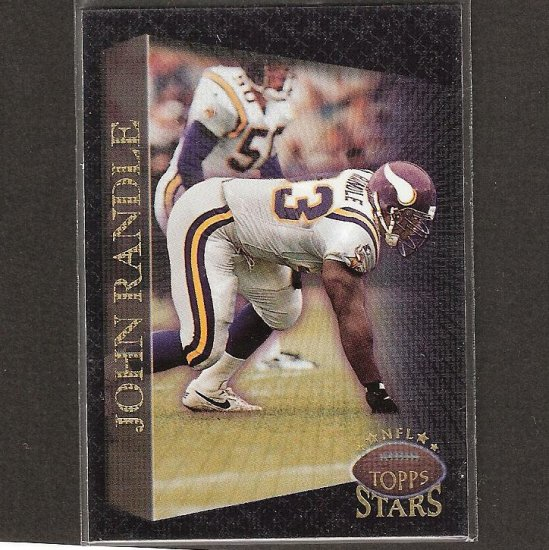 JOHN RANDLE - 1997 Topps Stars Always Mint Parallel - Vikings & Texas A&I