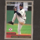 PEDRO MARTINEZ 2000 Topps OVERSIZE - Box Topper - Red Sox & NY Mets