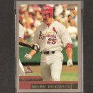 MARK McGWIRE 2000 Topps OVERSIZE - Box Topper - Cardinals and A's