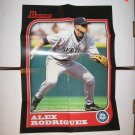 ALEX RODRIGUEZ 2005 Bowman Throwback Posters 1997 - Mariners & Yankees