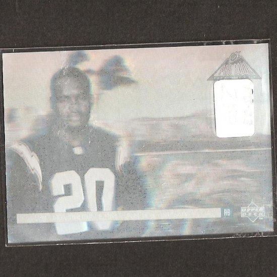 NATRONE MEANS - 1995 Upper Deck Pro Bowl Hologram - Chargers & North Carolina Tarheels