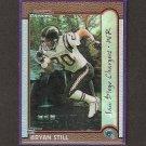 BRYAN STILL 1999 Bowman Chrome Interstate REFRACTOR Rookie - Chargers & VA Tech Hokies