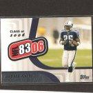 LenDALE WHITE - 2006 Topps NFL 8306 Rookie - Titans & USC Trojans