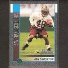 KEN SIMONTON 2002 Bowman SILVER Rookie - 49ers, Lions, 49ers & Oregon State Beavers
