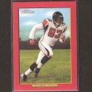 ALGE CRUMPLER 2005 Turkey Red RED Parallel - Falcons, Patriots & North Carolina Tarheels