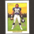 MEWELDE MOORE 2005 Turkey Red WHITE Parallel - Vikings, Steelers & Tulane
