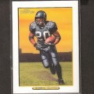 MAURICE MORRIS 2005 Turkey Red WHITE Parallel - Seahawks & Oregon Beavers