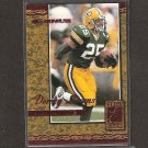 DORSEY LEVENS 2000 Donruss Elite Series - Packers & Georgia Tech Yellowjackets