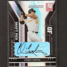 CHRIS CARTER - 2004 Donruss Elite Autograph ROOKIE - Red Sox & Stanford Cardinal
