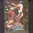 TIM DWIGHT 1999 Ultra Gold Medallion - Falcons & Iowa Hawkeyes