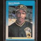BARRY BONDS - 1987 Fleer ROOKIE - Pirates & San Francisco Giants