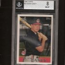 SEAN CASEY - 1996 Topps ROOKIE Beckett Graded - Indians, Reds, Pirates & Red Sox