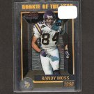 RANDY MOSS 2000 Bowman Chrome Rookie of the Year - Vikings & Tennessee Titans