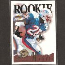 CURTIS MARTIN 1995 Score Summit ROOKIE - Patriots, Jets & Pitt Panthers
