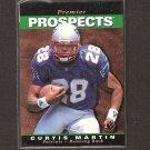 CURTIS MARTIN 1995 SP ROOKIE - Patriots, Jets & Pitt Panthers