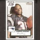 LAURENCE MARONEY 2006 Topps Heritage ROOKIE - Patriots, Broncos & Minnesota Golden Gophers